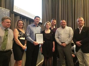 Judges Special Commendation: RPS Group - For their work on the M8/M73/M74 Motorway Improvement Project in Scotland.