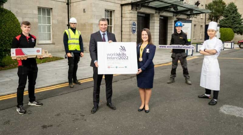Skills in the frame as WorldSkills Ireland 2022 launches